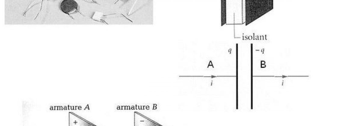 illustration des condensateurs