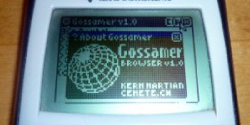 Internet sur votre calculatrice Ti