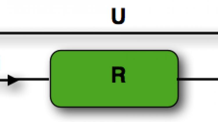 schéma d'un résistance en convention récepteur