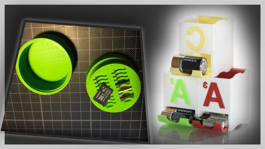 impression 3d d'objets en plastiques